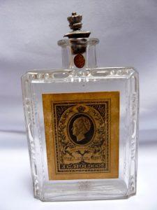 Bolton eau de cologne uit 1923 t.g.v het zilveren jubileum van Koningin Wilhelmina