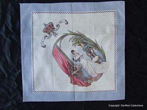 doek gemaakt t.g.v de inhuldiging van Koningin Wilhelmina in 1898