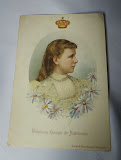 Queen Wilhelmina to promote Driessen chocolate 1890