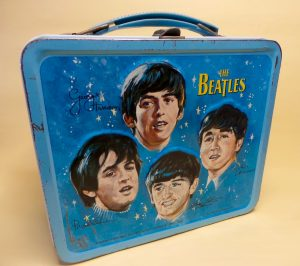The Beatles lunch box made by Aladdin USA 1965
