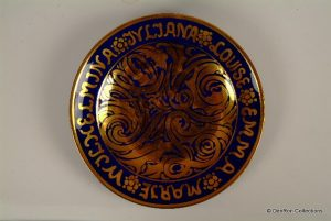 bord t.g.v de 25e verjaardag van prinses Juliana 1934