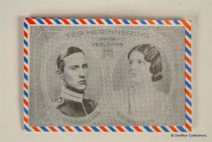 aankondiging verloving Prinses Juliana en Karel van Zweden