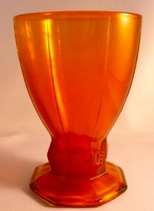 1948 press glass goblet that never went into production.