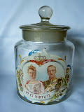 candy jar made for the wedding of Queen Wilhelmina 1901