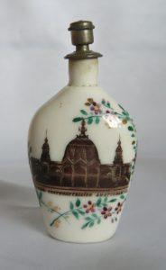 Parfum flesje Tentoonstelling Amsterdam 1883.