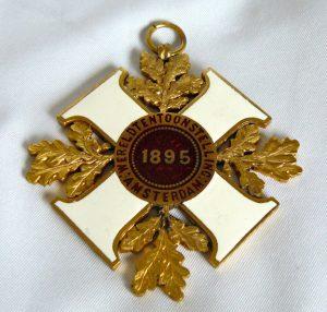 Medaille Wereld Tentoonstelling Amsterdam 1895.
