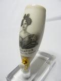 porseleinen pijp kop met portret Prinses Marianne echtgenoot van Prins Albert van Pruisen.