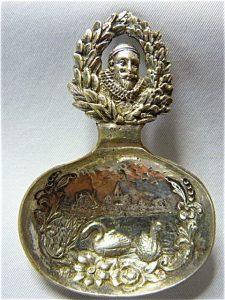 zilveren theeduimpje 1533-1933