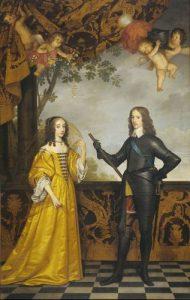 Stadhouder Willem II en zijn vrouw Maria Stuart