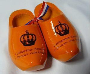 Houten klompjes 2013 Prinses Catharina Amalia erfprinses van oranje