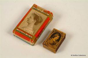 Kronings sigaretten en lucifers