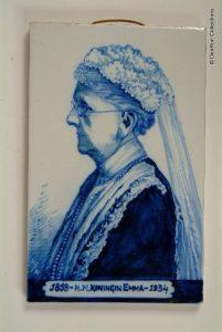 In memoriam Delft blauwe tegel 1858-1934