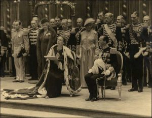 De inhuldiging van Koningin Juliana 1948