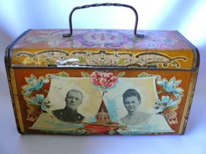 Lunch box huwelijk Koningin Wilhelmina 1901